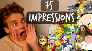 75 IMPRESSIONS IN 5 MINUTES!