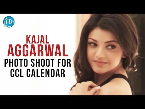 Kajal Aggarwal Photo Shoot For CCL Calendar | CCL Brand Ambassador