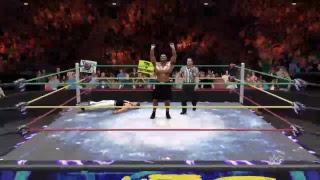 PS4 WWE 2K Matchplay Last Man Standing Jean-Claude Van Damme vs Mike Tyson [HD]