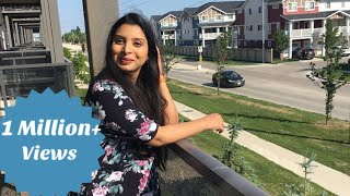 Apartment Tour Canada| How much a basic apartment cost in canada| Canada Couple