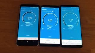 Verizon vs T-Mobile vs Sprint Late 2017