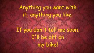 The Crumble Song - Lorraine Bowen Lyrics