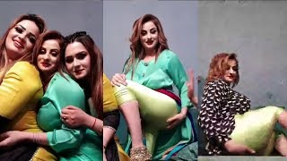 Afreen Khan Hot Pakistani Mujra Actress Talking To Fanz 1