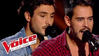 The Voice 2014│Frero Delavega - Caroline (MC Solaar)│Blind audition