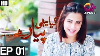 Yeh Ishq Hai-Kiya Yehi Pyar Hai-Episode 1 |A Plus ᴴᴰ Drama |Shoiab Khan,Sameena Nazir,Rashid Khawaja