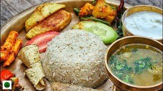 Nepali Food |Unlimited Thali @Rs300| Delhi University| Majnu Ka Tilla