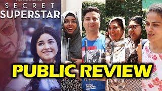 Secret Superstar PUBLIC REVIEW - First Day First Show - Aamir Khan, Zaira Wasim