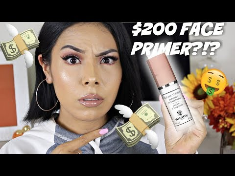 TRYING A $200 MAKEUP PRIMER!!!!!    WORTH THE BUY OR NAW