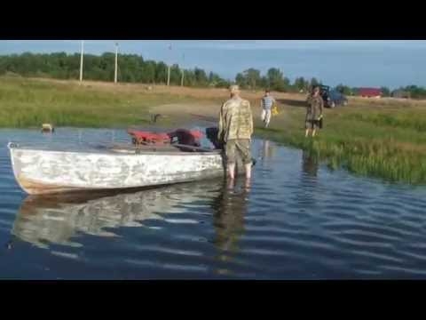 Мелководный лодочный мотор BAWAD
