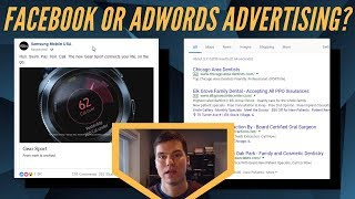 Facebook Ads OR Google AdWords Advertising - Which is BETTER for your Business?