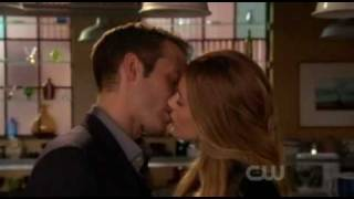 Ben and Serena 4x14 - First kiss