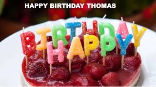 Thomas - Cakes Pasteles_686 - Happy Birthday