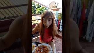 Spicy Hot Noodles Challenge by Dyosa Pockoh