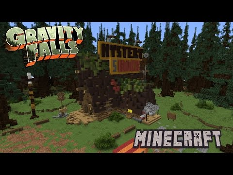 Mystery Shack Minecraft Tutorial [Gravity Falls]