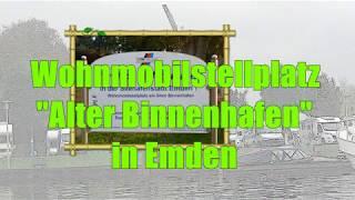 Wohnmobilstellplatz Alter Binnenhafen in Emden