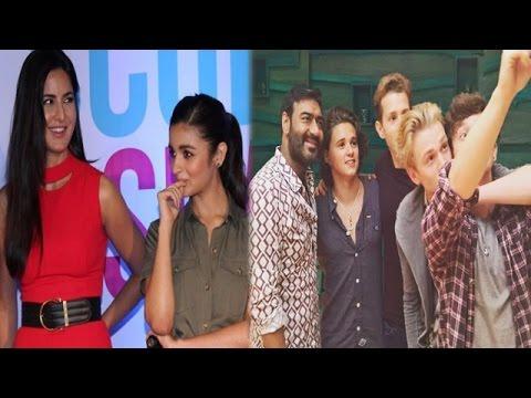 Xxx Mp4 Is Alia Bhatt Jealous Of Katrina Kaif Ajay Devgan Collaborates With The Vamps For Shivaay 3gp Sex