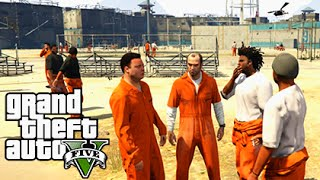 GTA 5 Mods - PRISON MOD #2 - Epic Prison Break & Riots! (GTA 5 PC Mods Gameplay)