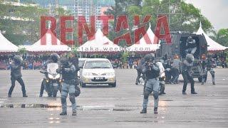 Rentaka: Hari Ulang Tahun (HUT) Unit Tindak Khas Polis DiRaja Malaysia (UTK PDRM) ke-41