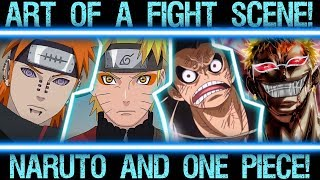 The Different Messages in Naruto VS Pain and Luffy VS Doflamingo - Art of a Fight Scene!