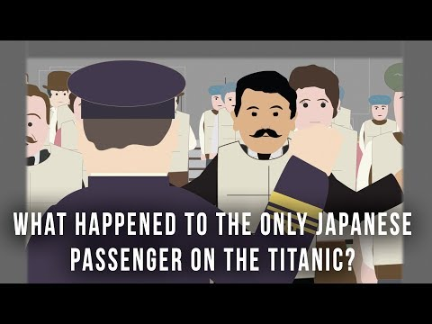 What happened to the only Japanese passenger on the Titanic?