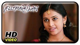 Vellaikaara Durai Movie Scenes   Sri Divya steps for a Mass Song   Vikram Prabhu   Soori