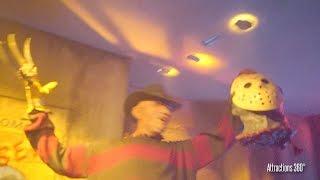 Freddy vs Jason Haunted House Maze  - Halloween Horror Nights 2016