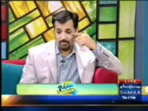 Urooj Moiz On Samaa TV with Mr. Mustafa Kamal in Subha Saweray Maya Ke Sath 3rd Feb 2011 Part 2.mpg