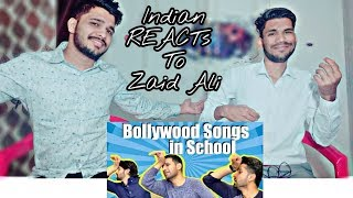 Indian Reaction On Bollywood Songs In Pakistani School - Zaid Ali