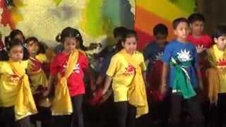 Tup tap tapur tupur brishti nache re - Shreyoshee performing in KG-I Show