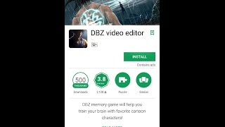 dragon ball z video editor android