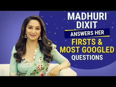 Xxx Mp4 Madhuri Dixit Answers Her Firsts And Most Googled Questions Pinkvilla Bollywood Fashion 3gp Sex