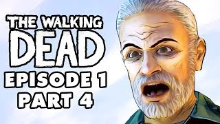 The Walking Dead Game - Episode 1, Part 4 - Rock and a Hard Place (Gameplay Walkthrough)