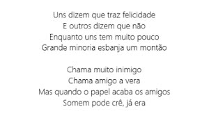 MC Menor da VG e MC Pedrinho - Papel do Mal  (LETRA)