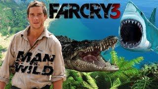 Far Cry 3 - A Prova de Tudo (Man vs Wild) Ilha do Pacífico com Bear Grylls