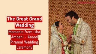 Great Moments from Isha Ambani & Anand Piramal