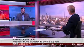 Mohammad Marandi and Stephen Sackur Discuss Trump and the Nuclear Deal