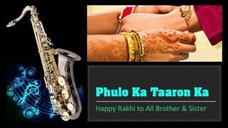 Phoolon Ka Taaron Ka - Hare Rama Hare Krishna    Best Saxophone Instrumental   HD Quality