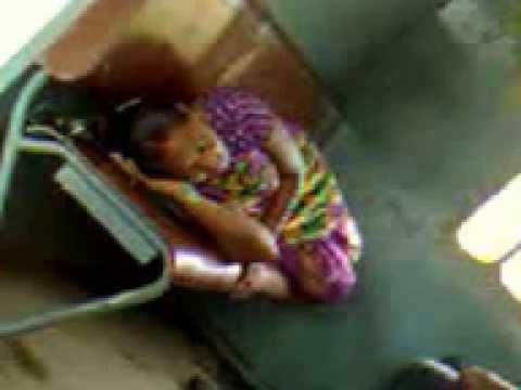 Bhabi sleeping mood in the train journey