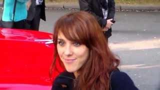 ZAZ @ Paris le 3 mai 2013 enregistrement de Champs Elysées