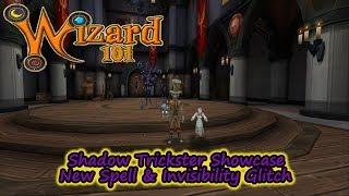 Wizard 101 Shadow Trickster Showcase & Invisibility Glitch