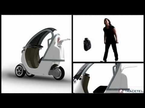 WHOOP tricycle urbain à moteur électrique.