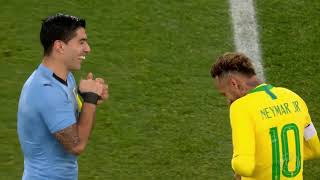 Neymar vs Uruguai (Away) HD 720p (16/11/2018)