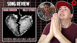 Miley Cyrus & Mark Ronson - Nothing Breaks Like A Heart   Song Review