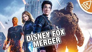 Why Marvel Won't Get the Fantastic Four in the Disney Fox Merger! (Nerdist News w/ Jessica Chobot)