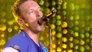 Coldplay Yellow Live at Glastonbury 2016