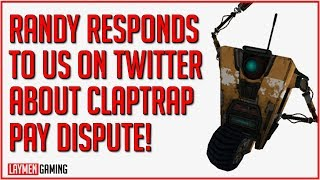 Randy Sets The Laymen Straight On Why Claptrap Voice Isn't Returning (WHITE KNIGHT EDITION!)