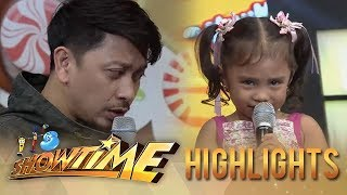It's Showtime MiniMe 3: Minime Reianah gets angry at Jhong