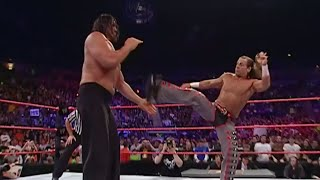 Can Shawn Michaels deliver Sweet Chin Music to The Great Khali? No Disqualification: Raw May 7, 2007