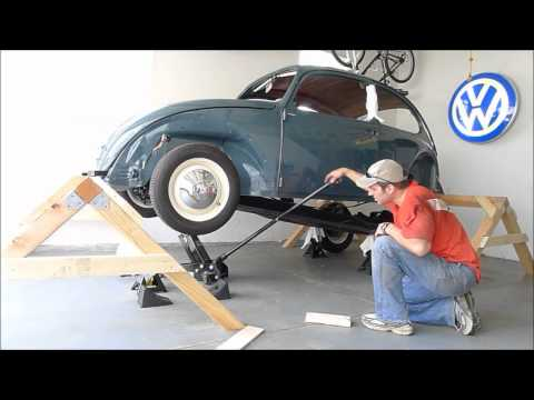 Xxx Mp4 1966 VW Beetle Body Removal One Person Remove Body Chassis Bug 2x Speed 3gp Sex