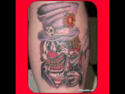Fotos de tatuagens de palhaço